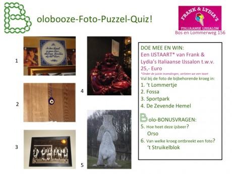 Antwoorden Bolobooze Foto-Puzzel-Tocht