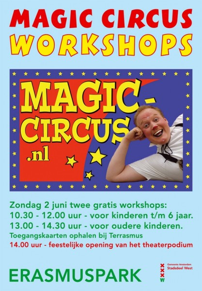Oproep workshop Magic Circus 2013 (1)